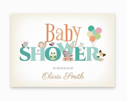 Baby Shower-invitationer